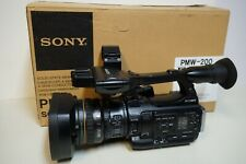 Sony Pmw-200 Hd Camcorder plus all accessories