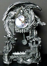 DARK TIMES  **NEW FACE**    Dragon Clock   DWK   Statue   H13'' x L9.85'' x W5''