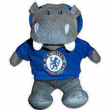 Chelsea Football Club Official Soccer Gift Plush Hoody Hippo Baby Soft Toy