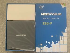 Brand New MINISFORUM Z83-F Mini PC Fanless Silent Desktop 4GB RAM, 64GB