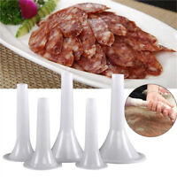 ITS- AU_ 1Pcs Manual Sausage Stuffer Filler Funnel Maker Tube for Meat Grinder N