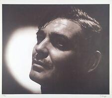 Clark Gable, Ltd. Ed. Photolithograph, Laszlo Willinger