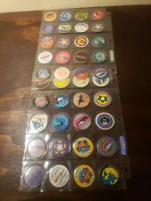 Lot of 40 Vintage Collectible Pogs - California Extreme - Sports Surfing Snow