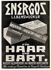 Für Bart und Haar Energos Lebenswecker Dresden XXL- Historische Annonce 1907