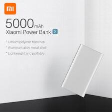 NUOVO XIAOMI POWER BANK 5000MAH BATTERIA ESTERNA 2 USB CARICABATTERIE 2021 H2S9