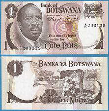 BOTSWANA ND(1976) 1 PULA P-1 Sig.#1 GEM UNC - US Seller