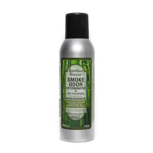 Smoke Odor Exterminator Removes Smell 7oz Spray Air Freshener, Bamboo Breeze