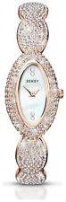 Seksy Ladies' Rose Gold White Dial Bracelet Watch