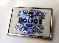 The Police vintage rock pin badge circ late 1970's/80's Copeland Summers Sting