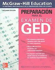 PREPARACION PARA EL EXAMEN DE GED/ GED EXAM PREPARATION - MCGRAW-HILL EDUCATION