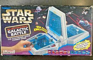 Star Wars Electronic Galactic Battle game 1997 RARE VINTAGE