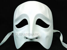 DIY Mask Base Halloween Masquerade Party Sad Face Kitty Cat Skull Eye Mask