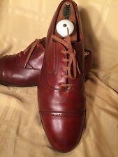 Ralph Lauren Polo Crockett Jones Tan Mens Oxfords Size UK 12 EE US 12.5. England