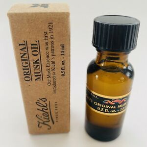 Kiehl's Original Musk Essence Oil 0.5oz