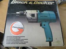 BLACK & DECKER D116 Elektromatik, Schlagbohrmaschine Rarität