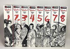 Vagabond English Manga Lot VizBig Edition Books 1-8