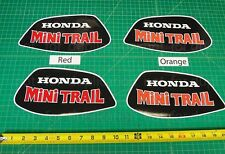 1972 - 76' Mini Trail honda Z50 Vintage 2pc fuel tank decals stickers graphics