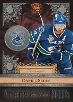 11/12 CROWN ROYALE LORDS OF THE NHL #18 DANIEL SEDIN CANUCKS *20803