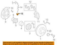 TOYOTA OEM 07-15 Tundra ABS Anti-lock Brakes-Front Speed Sensor 895420C020