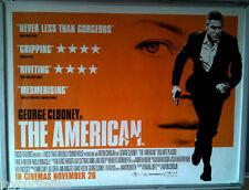 Cinema Poster: AMERICAN, THE 2010 (Quad) Geroge Clooney Anton Corbijn