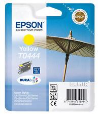 2 pezzi originali EPSON t0431 CARTUCCIA INCHIOSTRO NERO c84 c86 cx6400 cx6600