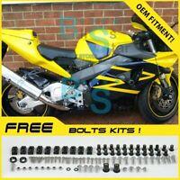 Fairings Bodywork Bolts Screws Set For HONDA CBR900RR CBR954RR 2002-2003 09 J7