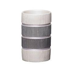Popular Bath Modern Line Bathroom Resin Tumbler- Gray