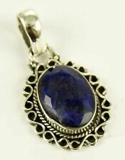Unbranded Sapphire Sterling Silver Fine Necklaces & Pendants