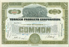 TOBACO Products Corporation 1929