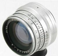 JUPITER-8 50mm f2 Objektiv M39 Zorki FED Leica 35mm HF-Kamera KMZ 50/2...