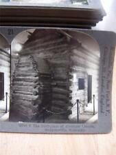 Stereoscope Birth Place Of Abraham Lincoln