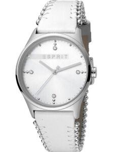 Esprit Uhr Uhren Damenuhr ES1L032L0015 Leder Markenuhr Armbanduhr NEU