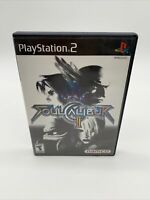 Soul Calibur II (Sony PlayStation 2, 2003) PS2 Black Label Tested Working