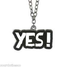 WWE AUTHENTIC DANIEL BRYAN YES PENDANT NEW YES YES YES RESPECT THE BEARD