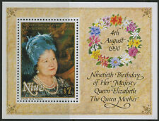 Niue  1990   Scott #   588     Mint Never Hinged Souvenir Sheet