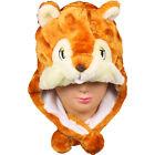 New Cartoon Animal Hat Winter Hat Fluffy Plush Hat Warm Cap Earmuff Gift Unisex
