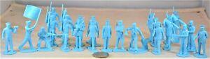Marx US Marines Sailors Toy Soldiers Light Blue