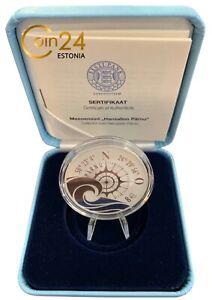 Hanseatic Town Pärnu, 2021 Silver Proof Coin 8 Euro