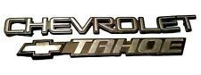 2000-2006 Chevrolet Tahoe Rear Lift Gate Liftgate Trunk Emblem Badge Nameplate