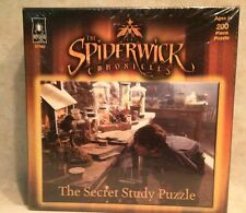 New! SPIDERWICK CHRONICLES SECRET STUDY PUZZLE 200 PCS