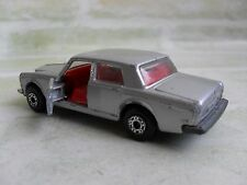 VINTAGE MATCHBOX- SUPERFAST- #39 ROLLS ROYCE- SILVER SHADOW II- 1979 LESNEY