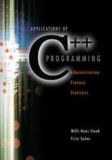 Applications of C++ Programming                                              ...