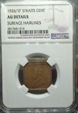 Straits Settlements$1 AU DETAILS 1926(0)Overdates ONLY 1 NGC