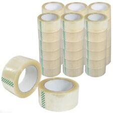 "36 Rolls Carton Sealing Clear Packing Tape Box Shipping - 2 mil 2"" x 55 Yards"