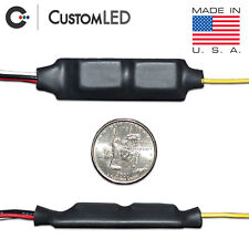 Blinker Genie 2 - for AUTOMOBILES. Converts 2-wire LED to 3-wire = Run and Turn!