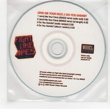 (GG511) Fight Like Apes, Lend Me Your Face - 2009 DJ CD