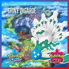 SHINY ZYGARDE | NEW DLC CROWN TUNDRA POKEMON SWORD & SHIELD