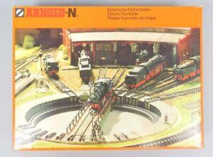 W 84281 Arnold Spur N Drehscheibe 6381, neuwertig im Originalkarton