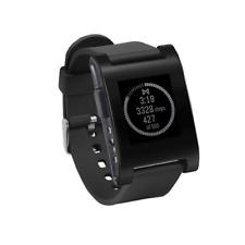Pebble 301BL TPU Rubber Band Smartwatch - Black