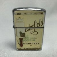Vintage Japanese CHESTERFIELD CIGARETTES Continental Windproof Tobacco Lighter